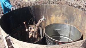 charcoal kiln 3 55 gallon drum
