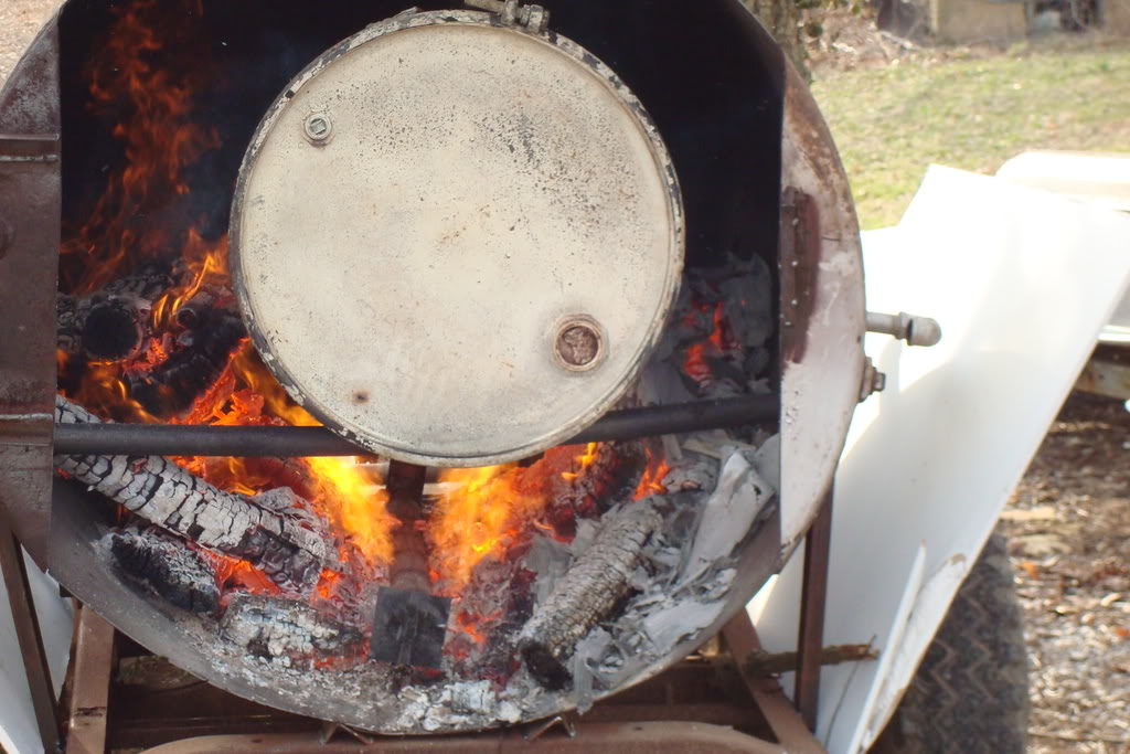 Charcoal Making Indirect Method Tested By Chuck 050382